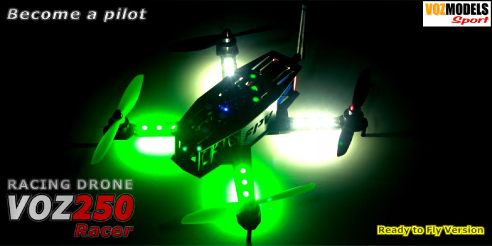 Racing Drone VOZ250 racer FPV