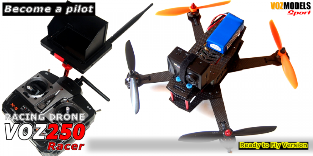 New Racing Drone VOZ250 FPV